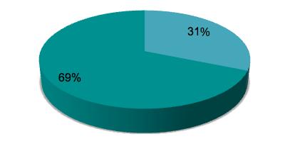 Diagramm: Unternehmen, die eine mobile Bewerbung zulassen.