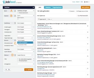 Das Jobfeed-Portal