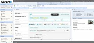 Screen shot van Textkernel Search! in Carerix