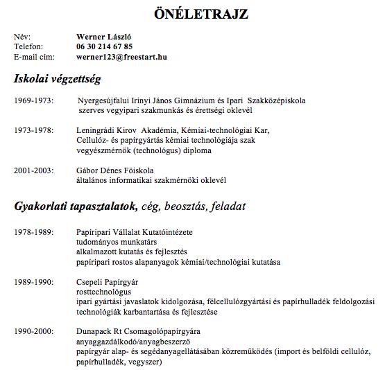 Hungarian-CV