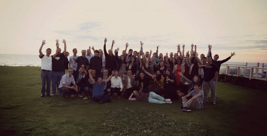 Group picture Textkernel Innovation week 2015