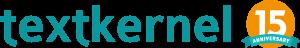 Textkernel 15th anniversary logo