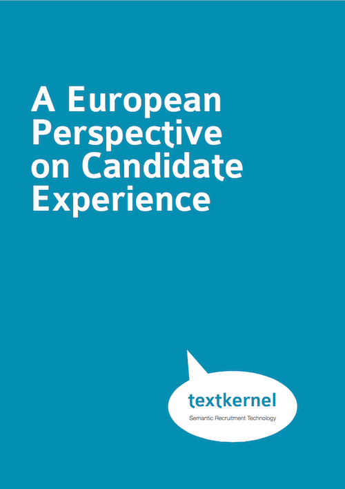 White paper Candidate experience - Textkernel