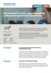 Textkernel Customer case - Manpower