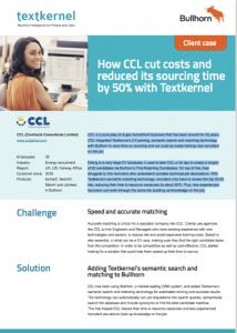 CCL Textkernel Bullhorn Customer case