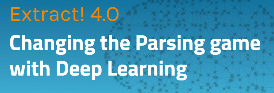 Extract! 4.0 - cv parsing fully powered by Deep Learning