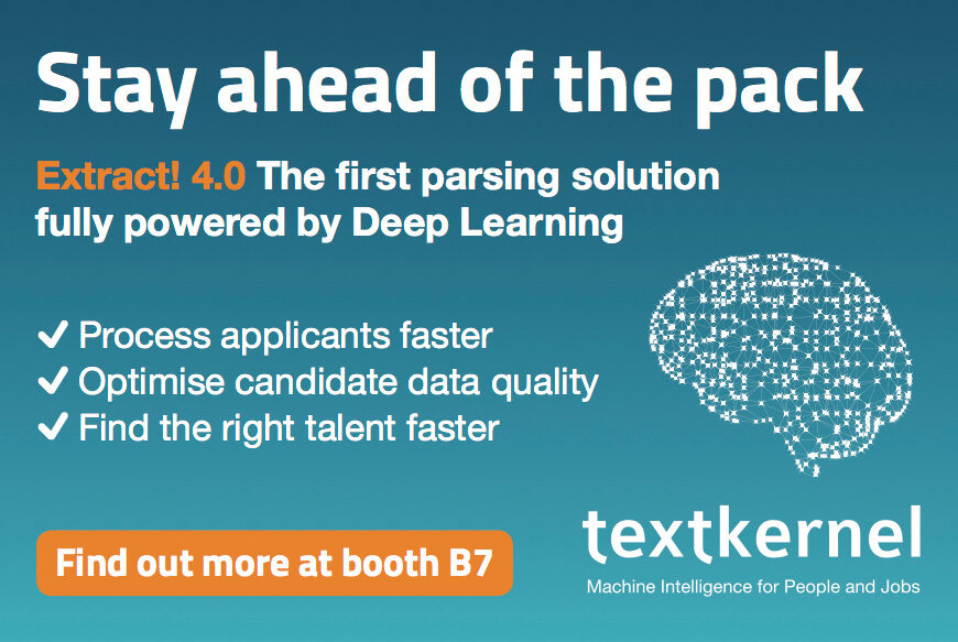 Stay ahead of the pack with Textkernel's Extract! 4.0 CV parsing powered by Deep Learning