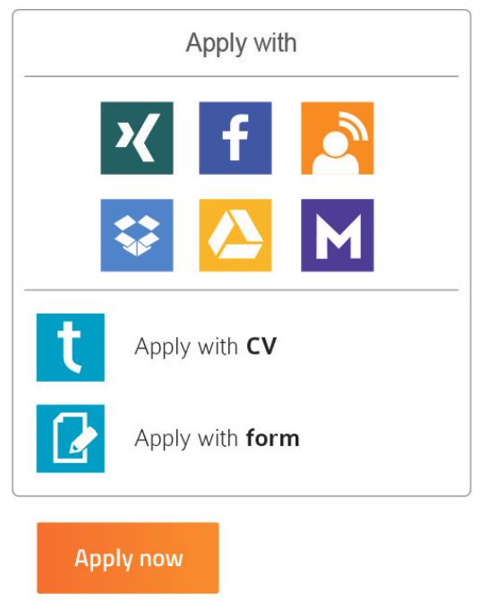 Apply-with widget
